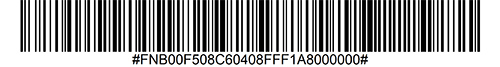 Disable OCR-A Barcode