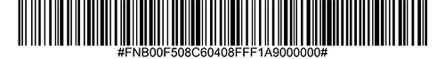 Disable OCR-B Barcode