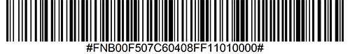 Code 39 Full ASCII Enable