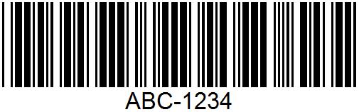 Code39-barcode