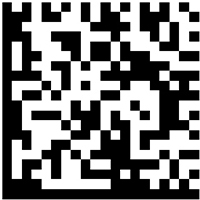 Enable Data Matrix Barcode