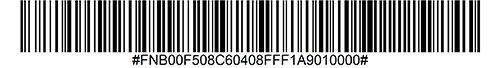 Enable OCR-B Barcode