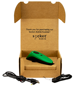 SocketScan 700 Series - Package Contents - Green