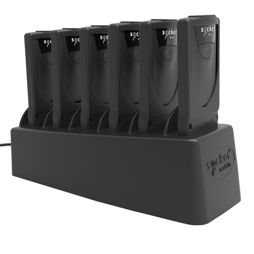 DuraScan 800 Series with 6 Multi-bay Charger