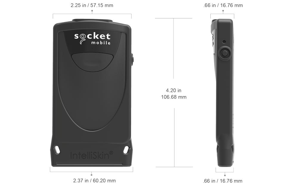 Dimensions of DuraScan 800 Series