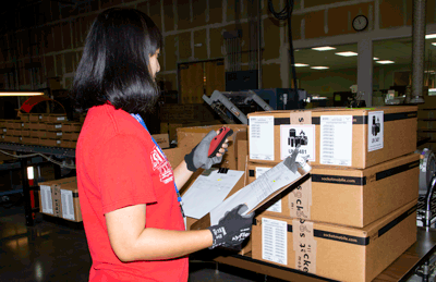 DuraScan 700 Series used by manufacturing as a work order solution