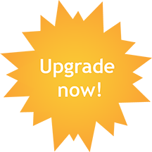 Upgrade Now Starburst Image